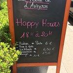 Happy Hours tous les jours de la semaine