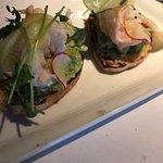 Avocado Shrimp Toat