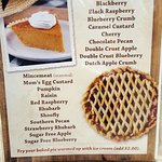 Baked pie list