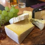 Cheese board (that black one is full on !)