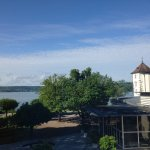 View from room facing Lake Constance (Bodensee).