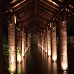 Nicely Lit Verandah pathway to the Lobby