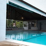 Half Indoor/Half Outdoor Pool