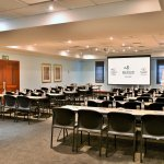 One of many conference rooms