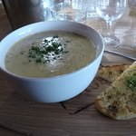Hot and filling seafood chowder