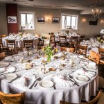 Our large banquet hall, perfect for large groups and events