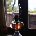 Cabin lantern.