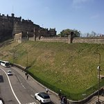 View from room of Edinburgh Castle