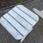 Dirty outside furniture