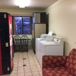 Laundry room for customers