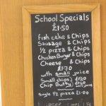 menu specials