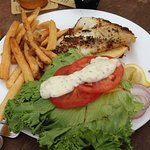 Grilled grouper