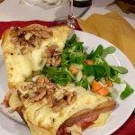 Croques Brie e Noci