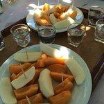 Dessert au Seragio et environs....