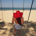 Swings on the Beach