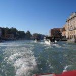 sailing on Laguna di Venezia.