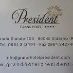 Grand Hotel President Foto