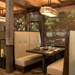 Intimate booth seating at The Steakhouse at Paso Robles Inn