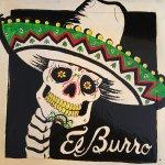 Art work in El Burrito