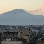 Mount Etna from the roof terrace
