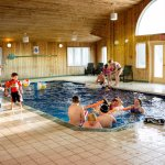 Indoor pool party - as a part of Dundee's complimentary summer recreation program
