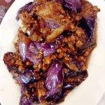 aubergines à la viande
