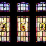 Our beautiful and original Stained glass windows at Kegel's Inn