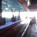 big, long saltwater aquarium