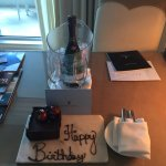 Birthday gift in my room when I checked in..