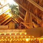 Upper loft in the barn
