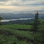 View of Lake Windermere from Orrest Head Walk
