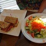 BLT + side salad.