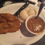 Chicken fried steak- my son was not a fan, definitely instant potatoes