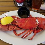 Lobster perfectly done