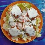 Falafel con ensalada