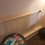 Old painted radiator ...4 star hotel?