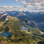 Rock Isle, Laryx & Grizzly Lakes + Mountains View