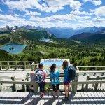 Sunshine Meadows Deck + Rock Isle, Laryx & Grizzly Lakes