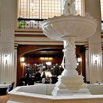Bar and original fountain in Macy's Walnut Room