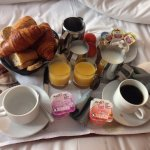 Petit-déjeuner du Bristol