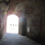 fort walkway