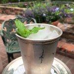 Refreshing mint julep.