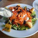 Allegedly a 'Caesar Salad' ....