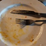 Full Irish breakfast, well what is left of it. Awesome breakfast!!