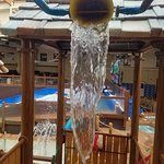 Toddler play area at the indoor water park