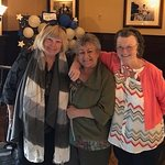 Three grand old grandmas celebrating their birthdays Yeaaaa