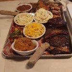 Lotta Glory-a massive plate of food.