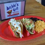 Tacos at Archie's Grill.