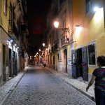 A typical Bairro Alto street