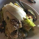 caesar salad was just ok